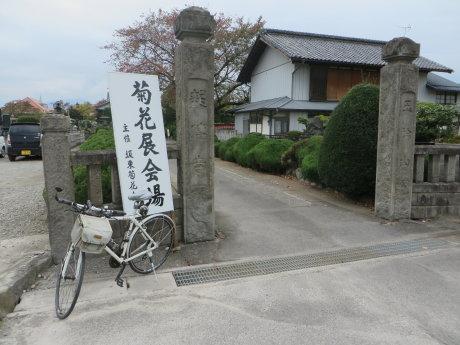 龍傳寺の菊花大会