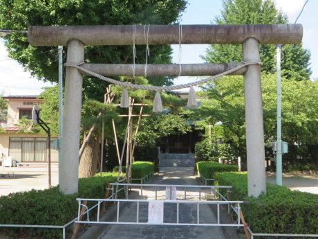 愛宕神社の鳥居が