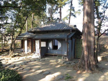 臨江閣の茶室