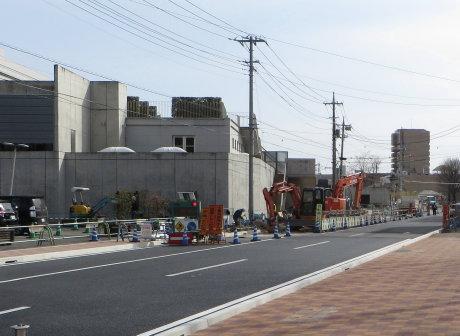 新高浜橋は3月末までに開通予定