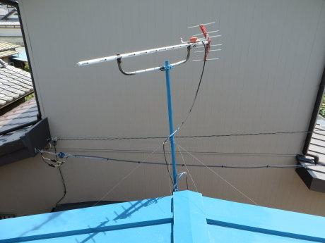テレビのアンテナ交換