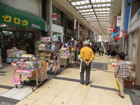 ツナガリズム祭りで賑わう市街地