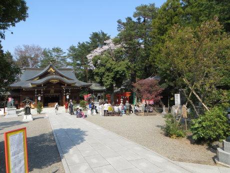 進雄神社では春の例大祭