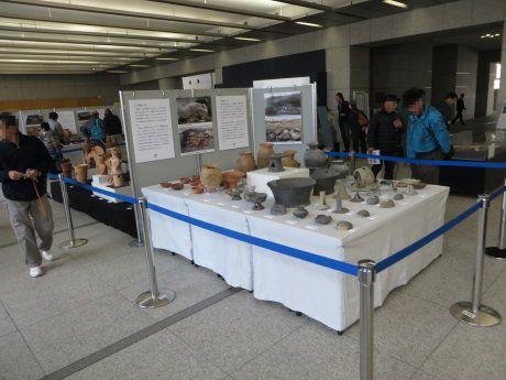群馬県庁の古墳王国展