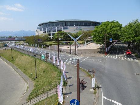 前橋・渋川シティマラソン前日の様子