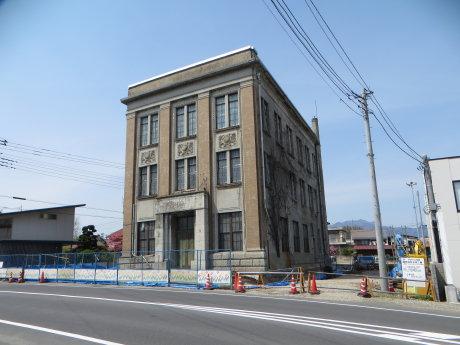 旧渋川公民館のお引越し