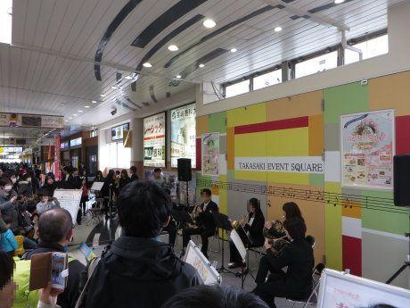 北陸新幹線開業の高崎駅