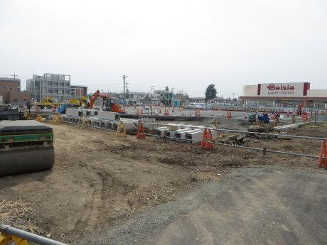 開発が進む伊勢崎駅周辺