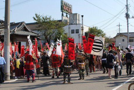 鎌倉街道武者行列見てきました