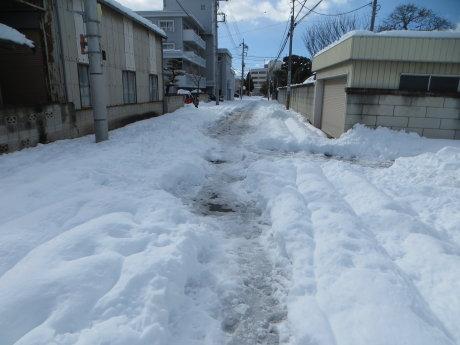 2日経っても大雪の影響が