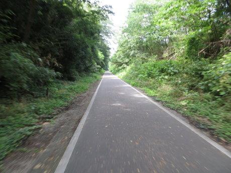自転車でグリーン牧場まで