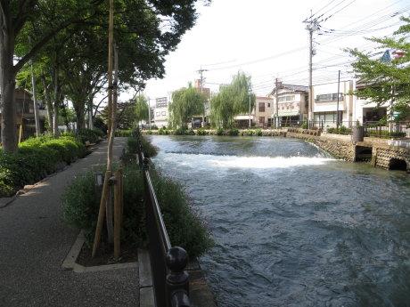 広瀬川詩の道は心地よいです^^