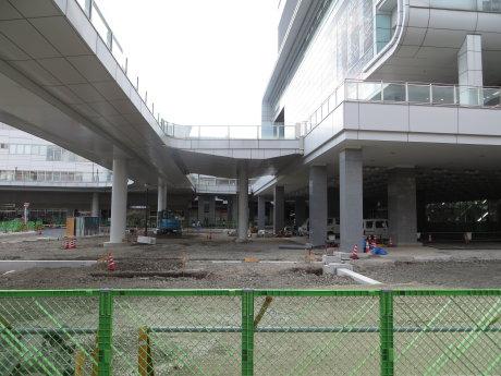高崎駅東口バスターミナル整備工事