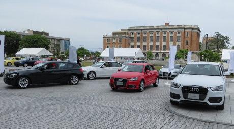 群馬県庁でドイツフェスティバル