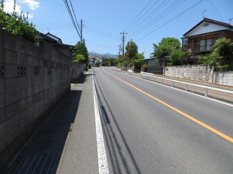 自転車でポピーの里桃泉へ