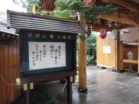 大蓮寺の水琴窟
