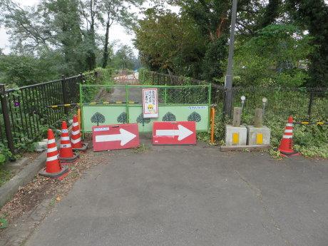 利根川サイクリングロードの補修工事は・・・