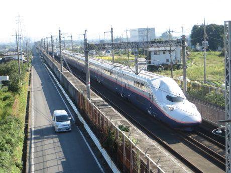上越新幹線vs乗用車?