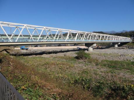 大正橋北側歩道架け替え工事が終わるのは1月29日