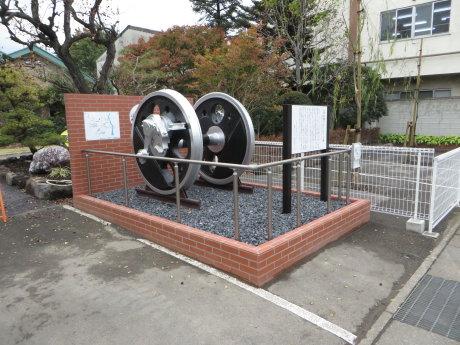 前橋ステーション跡に記念碑