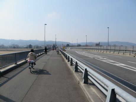 観音山までサイクリング