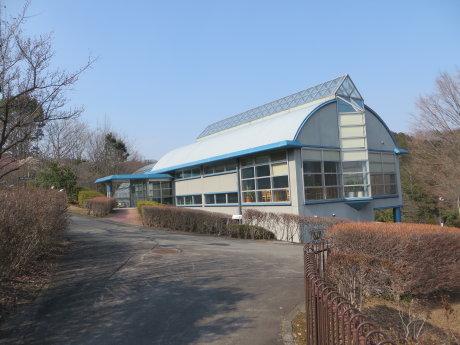 染料植物園の温室