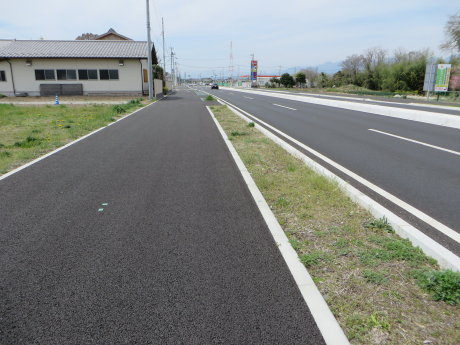 相馬原駐屯地までサイクリング