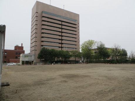 旧前橋合同庁舎の解体工事も終わって
