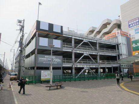 前橋駅前の立体駐車場もまもなく