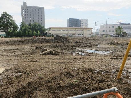 桃井小学校の解体工事も・・・