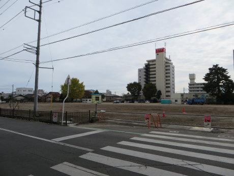 桃井小学校の解体工事もほぼ終わったようで