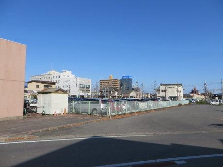 前橋駅前に高層ビル