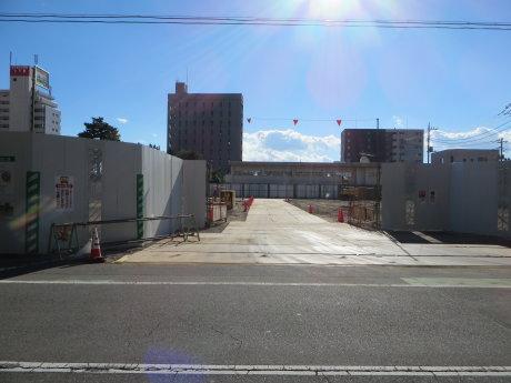 桃井小学校の改築工事始まりました