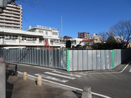 萩原朔太郎の生家は移築工事中
