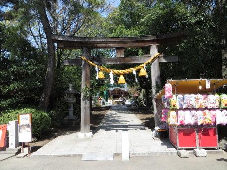 春季例大祭が行われた進雄神社へ