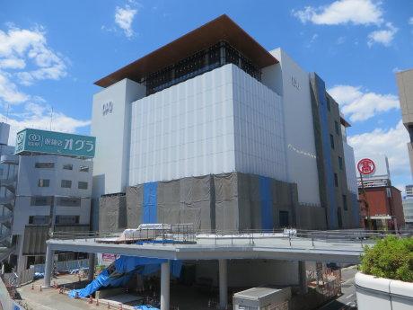 高崎オーパは10月13日オープン予定