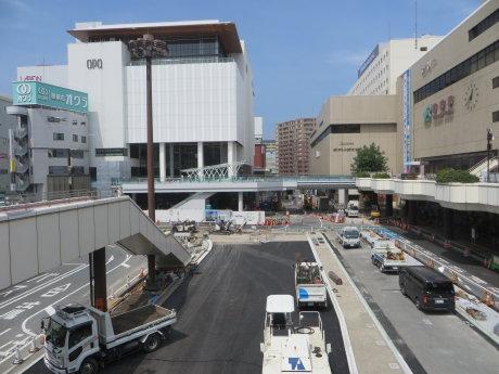 高崎駅西口も変わってきました