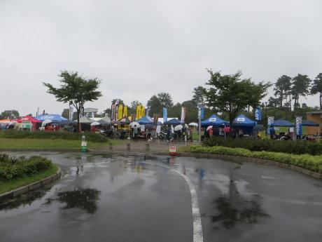 雨の中の BIKE LOVE FESTA in 群馬・前橋