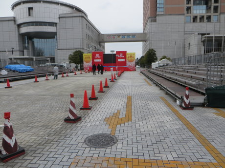 ニューイヤー駅伝のスタート・ゴール地点