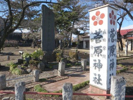 菅原神社の白梅