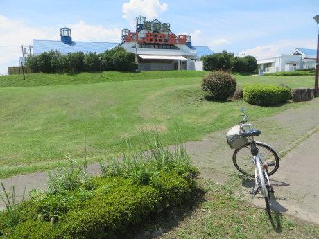 サイクリングの休憩に道の駅よしおか温泉