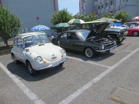 群馬自動車大学校のクラシックカーフェスティバル