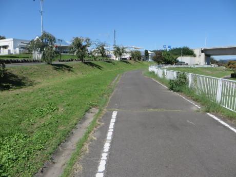行幸田のそば畑までサイクリング