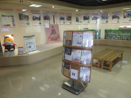 群馬県庁で、日本遺産「かかあ天下-ぐんまの絹物語-」PR展示