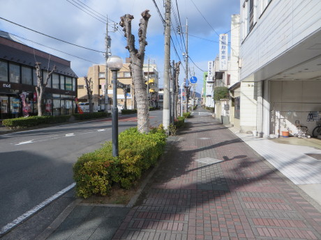 渋川市マンホールカードの写真の場所へ