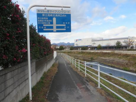 井野川サイクリングロードから浜川運動公園の拡張工事の様子など