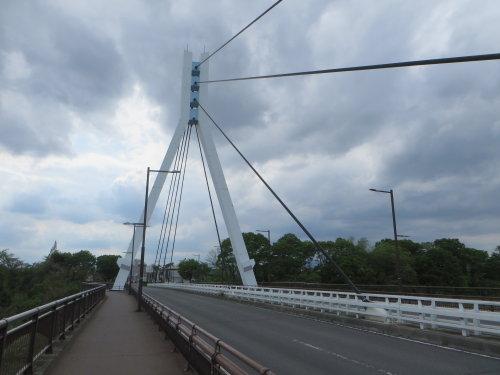 平成の終わりに、平成大橋を