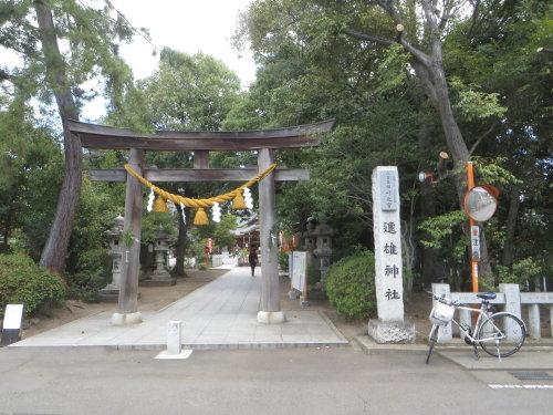 進雄神社の春季例大祭へ
