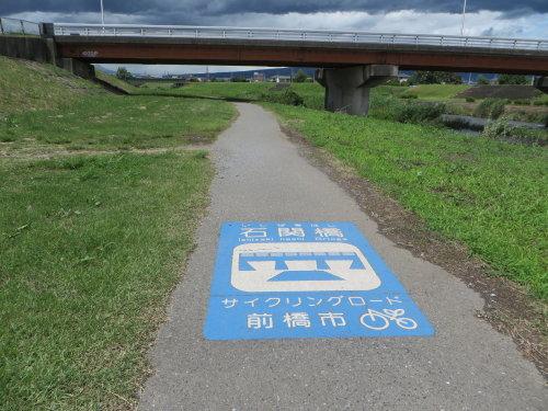 梅雨の晴れ間に桃ノ木川サイクリングロード