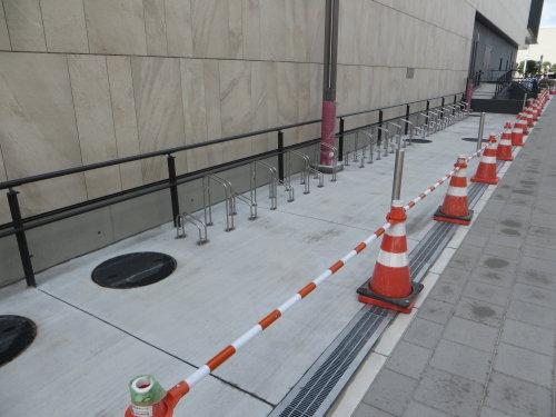 高崎芸術劇場の駐輪場
